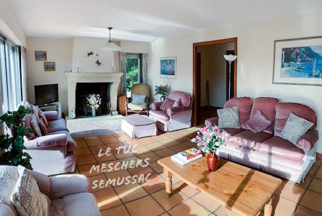 Poche Meschers maison 140 m2.
