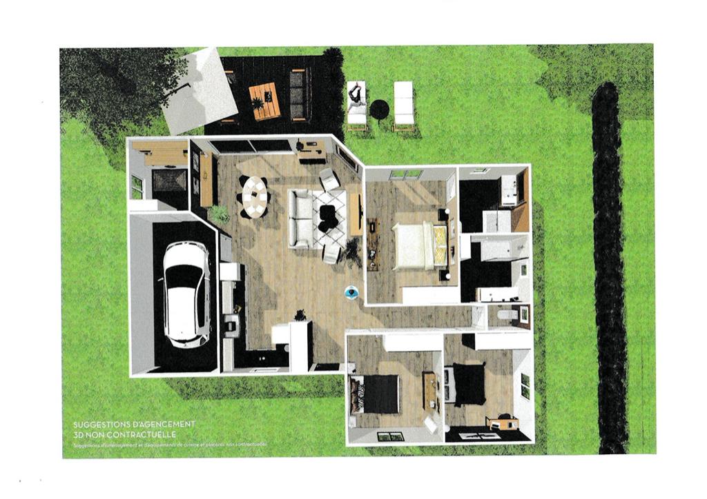 Exclusivité MESCHERS SUR GIRONDE Maison neuve 121,68 m2 environ