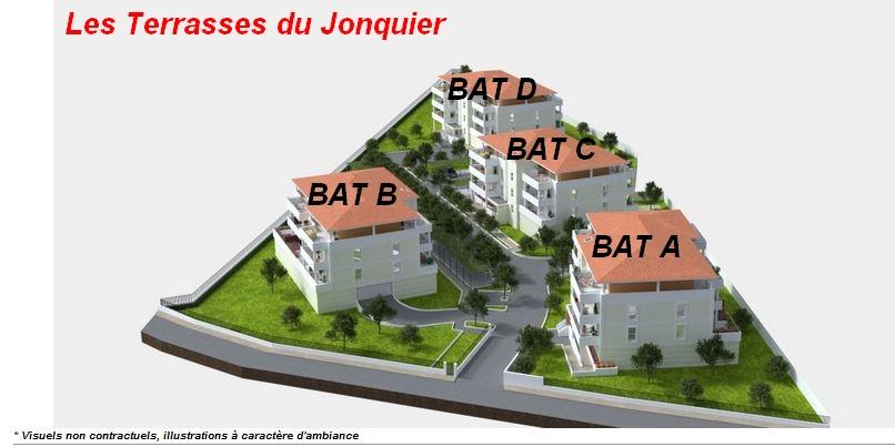 Appartement de standing T3 61.94 m²