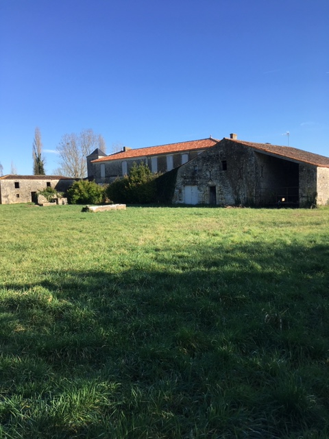 Maison charentaise à rénover proche de Saint Savinien (17)