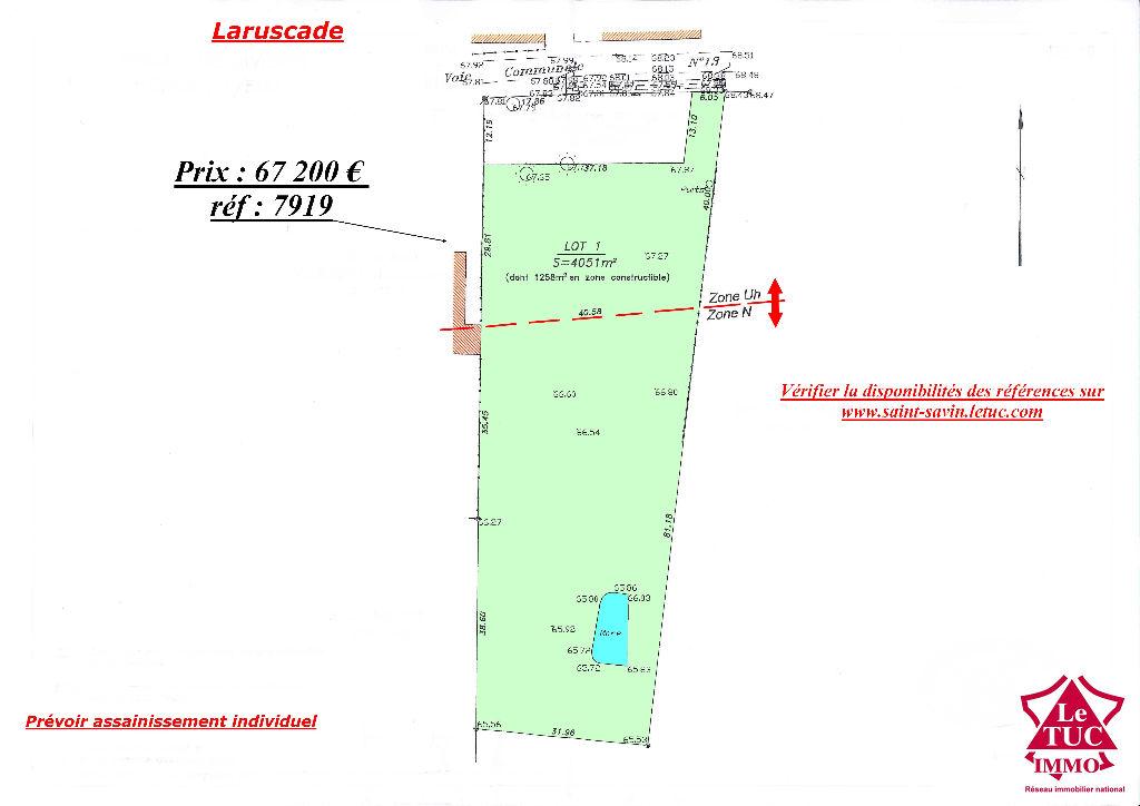 LARUSCADE TERRAIN 4 051 M²