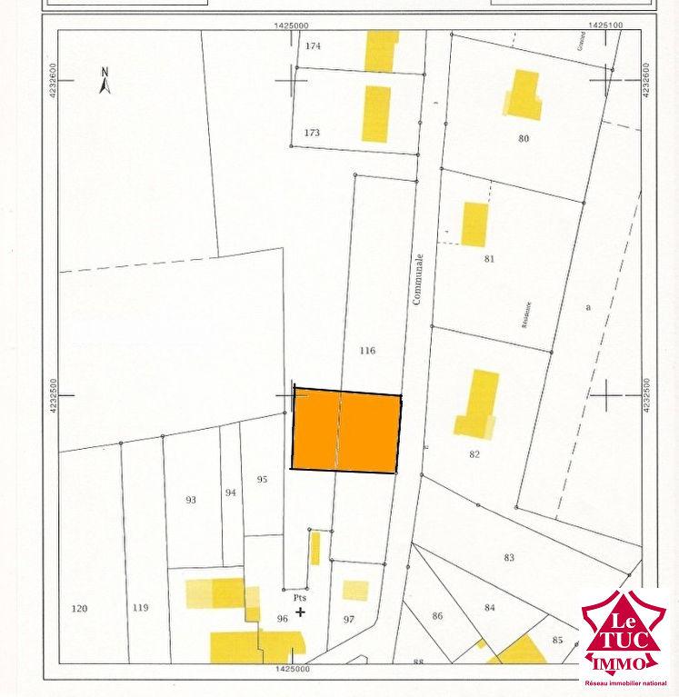 REIGNAC Terrain à bâtir d'environ 864 m²
