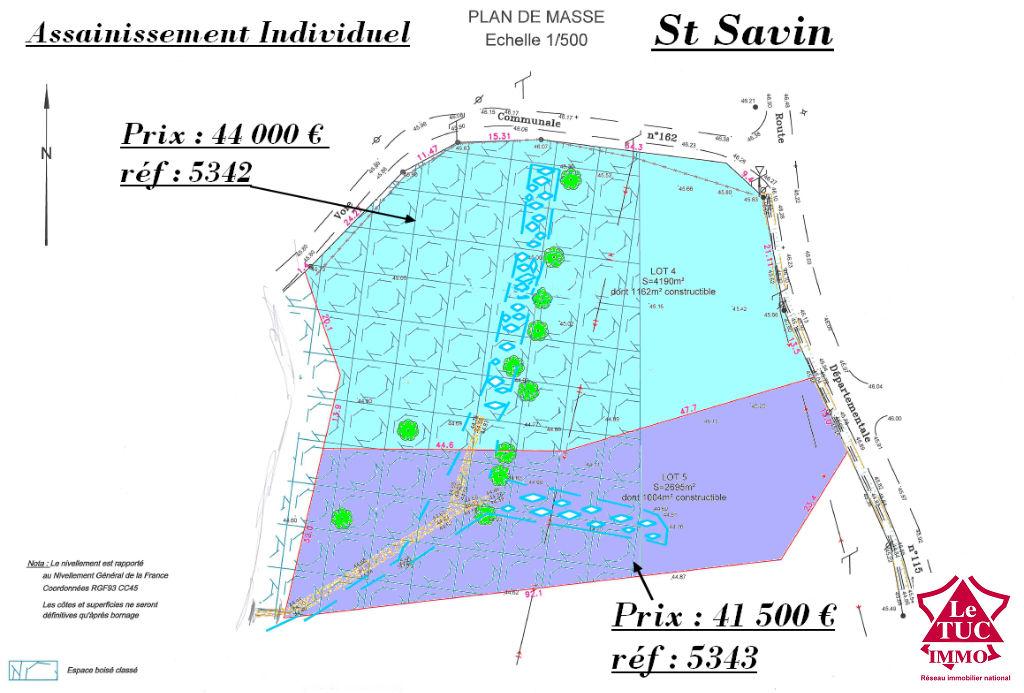 ST SAVIN TERRAIN A BATIR D'ENVIRON 4 190 M²