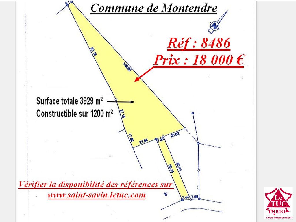 MONTENDRE TERRAIN D'ENVIRON 3 900 M²