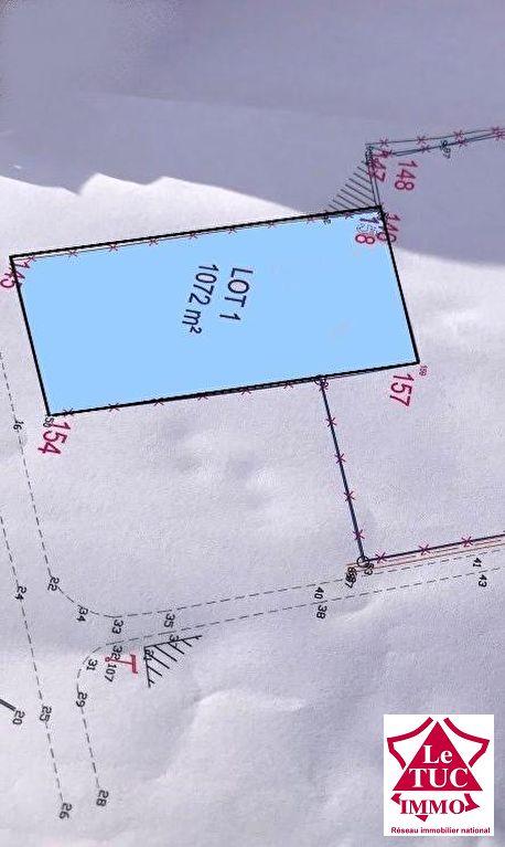 REIGNAC Terrain à bâtir de 1070 m²