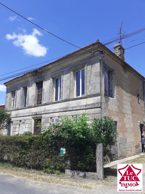 Maison girondine 170m² Berson