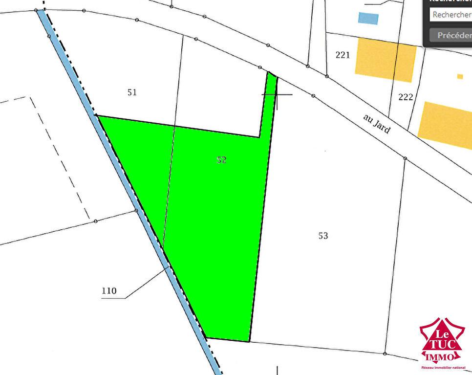 Terrain sur REIGNAC 2 780 m2