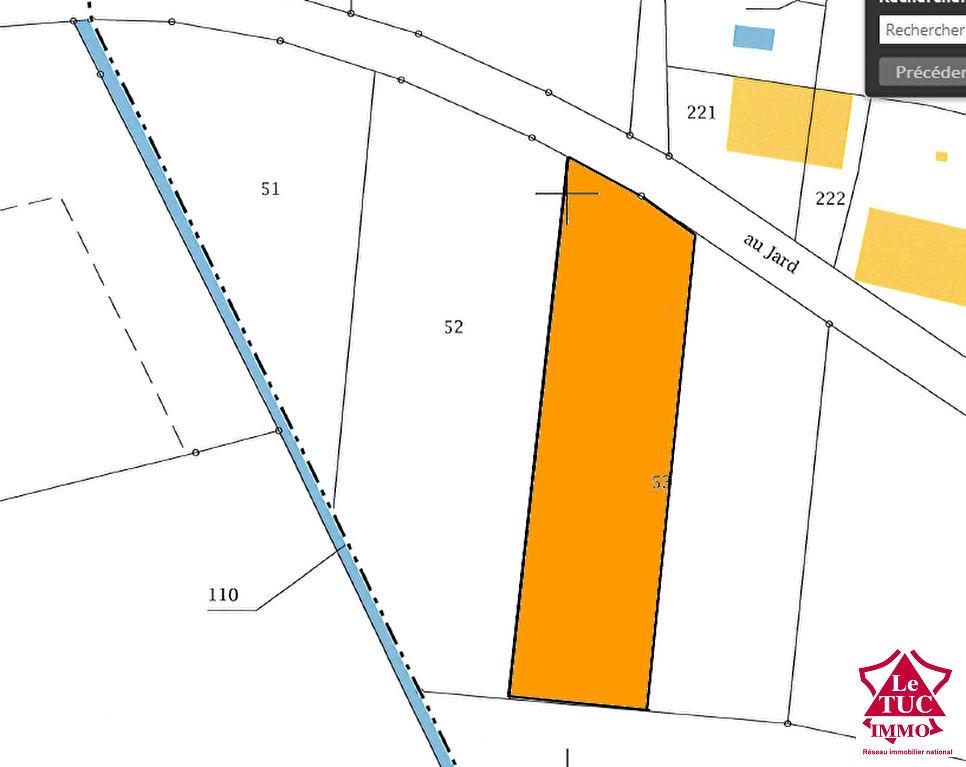 REIGNAC Terrain à bâtir d'environ 1 950 m²