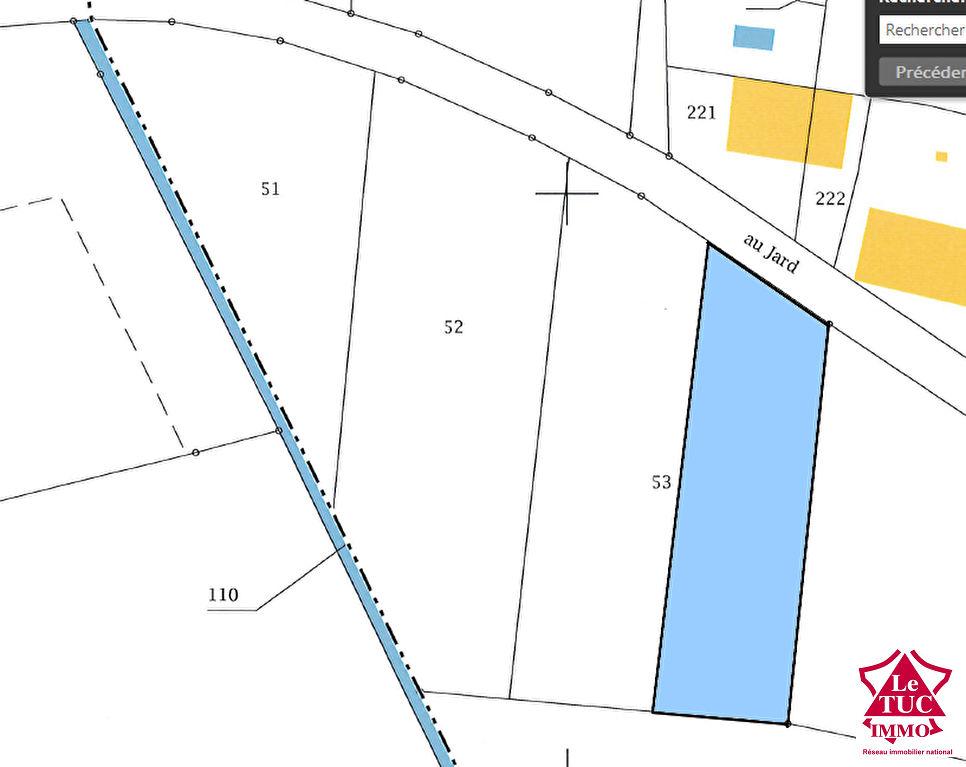 Terrain REIGNAC 1 530 m2