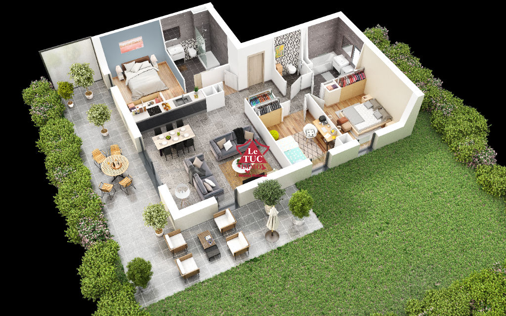 Appartement Thonon Les Bains 4 pièce(s) 86 m2