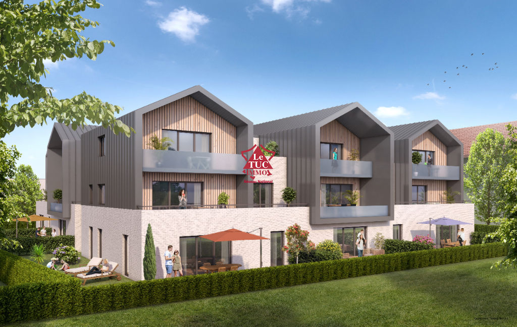 Appartement Thonon Les Bains 3 pièce(s) 66 m2 rez de jardin