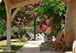 LOT ET GARONNE.  PRES BEAUVILLE  Ravissante ensemble  Grange et  petite maison en pierre, belle vues sans voisinage 2/18