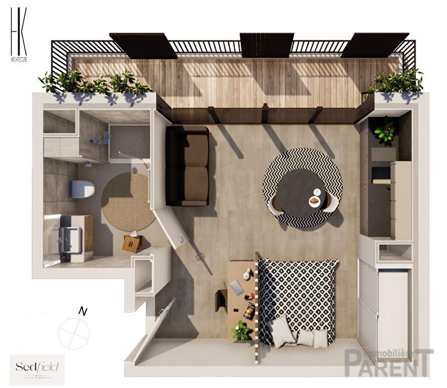 Appartement Issy-Les-Moulineaux 1 pièce 27.60m2