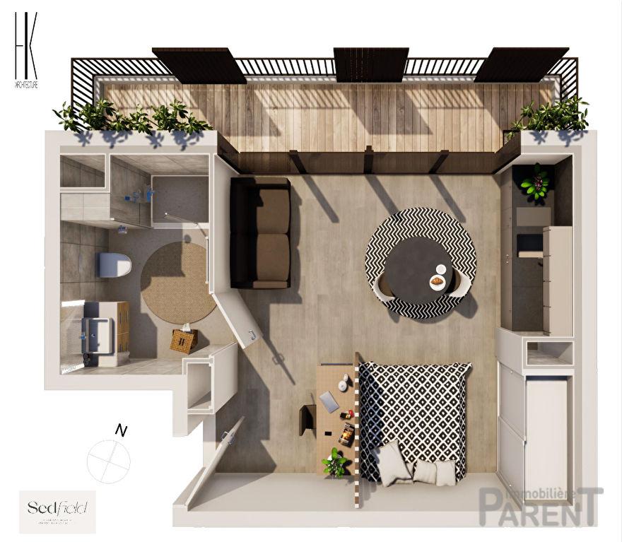 Appartement Issy-Lès-Moulineaux 1 pièce 27.60 m2