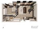 Appartement Issy-Lès-Moulineaux 2 pièces 46.30 m2 1/3