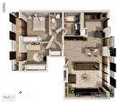 Appartement Issy-Lès-Moulineaux 3 pièces 74.50 m² 1/3
