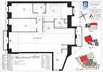 Appartement Clamart 4 pièce(s) 112.03 m2 4/4