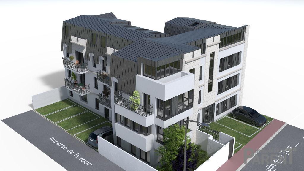Appartement Clamart 4 pièce(s) 81.50 m2 (74 m² carrez)