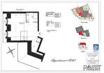 Appartement Clamart 1 pièce 28.64 m² 3/3
