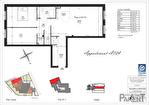 Appartement Clamart 3 pièce(s) 65.71 m² 3/3
