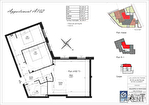 Appartement Clamart 3 pièce(s) 64.78 m² 3/3