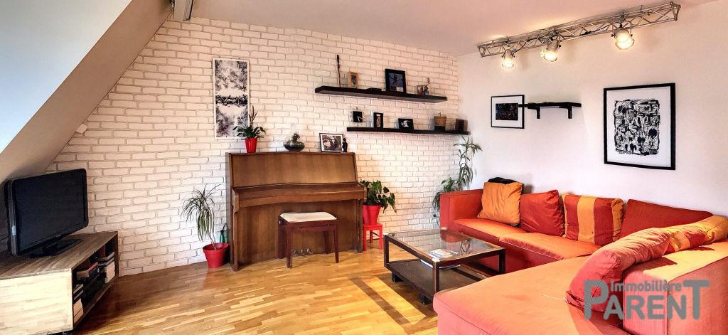 CHÂTILLON MAISON BLANCHE -  Appartement 3 pièces en dernier étage de 70,43 m² utiles!