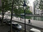 PARIS 19 - STUDIO - 25 M2 - 851.01 EUROS - VUE CANAL