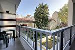 JOURDAIN - 2 Pièces sur jardin avec balcon 48m²