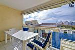 CAP d'AGDE T2 , cour, terrasses, dépendance et parking avec vue mer