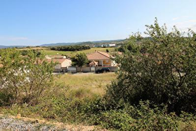 A VENDRE - CARCASSONNE - MONTREDON 11000 - TERRAIN A BATIR 600 m2  - VUE SUR PYRENEES