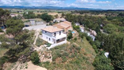 Villemoustaussou - 5 Mns de Carcassonne, villa neuve 5 pieces 120 m2