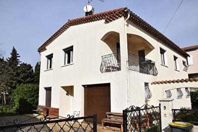 Carcassonne quartier Domairon - Maison T7  jardin garage - 140m2 SH