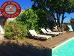 Villa T4 avec piscine et nombreuses dépendances