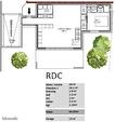Projet maison 4ch - Terrain 386m² 2/3