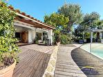 Villa de type 6 de plain pied avec piscine sur 2214m² de terrain 8/17