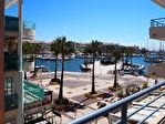 3 pièces terrasse vue mer sur le port