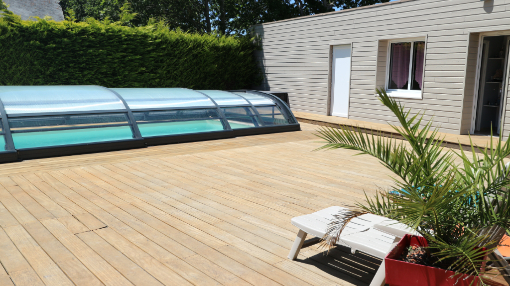 LOCATION A LA SEMAINE NOTRE DAME DU GUILDO : Maison 6/8 personnes avec piscine