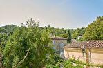 Maison de village avec grande cour , jardin privatif et vue imprenable - La Roque-sur-Cèze 4/15