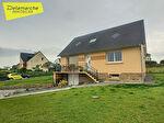 A vendre secteur AVRANCHES (50300)  maison sur sous-sol 4 chambres sur env.1000 m² 13/14