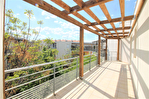 NÎMES Appartement beau P3 de 67,75m² au dernier étage avec terrasse et parking à 10mns du centre ville. 1/14