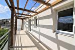 NÎMES Appartement beau P3 de 67,75m² au dernier étage avec terrasse et parking à 10mns du centre ville. 10/14