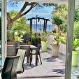 Appartement à vendre T3 70 m2 plain pied vue mer et jardin à Carry Le Rouet 1/13