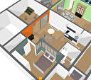 Appartement Beaupreau 2 pièce(s) 39 m2 2/3