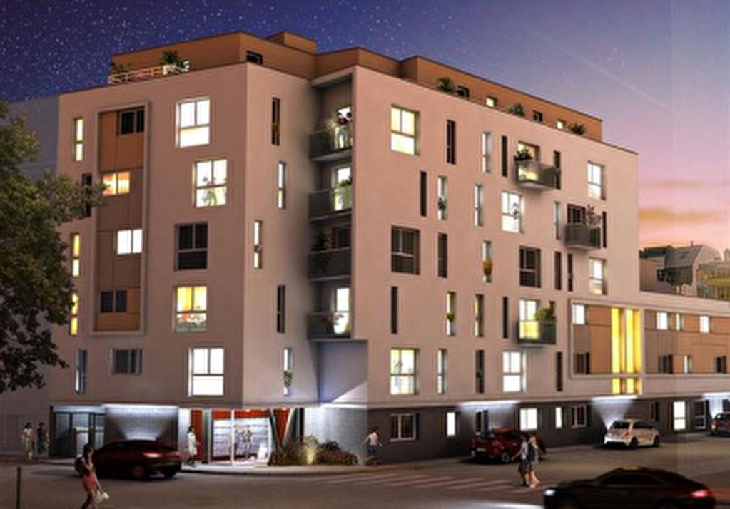 Résidence neuve étudiante, Rennes centre, vente grand appartement une pièce loyer garanti