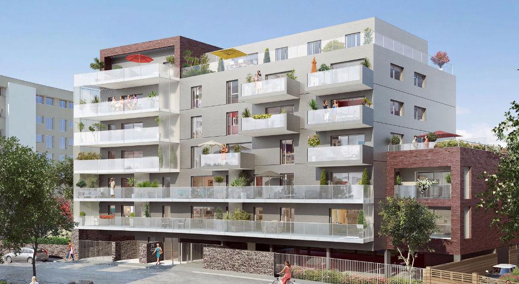A Vendre appartement neuf trois pièces à Rennes , quartier St Hélier