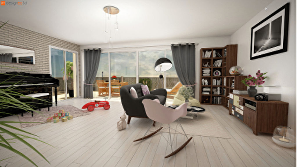 Appartement  neuf à Rennes quatre pièces quartier LE THABOR