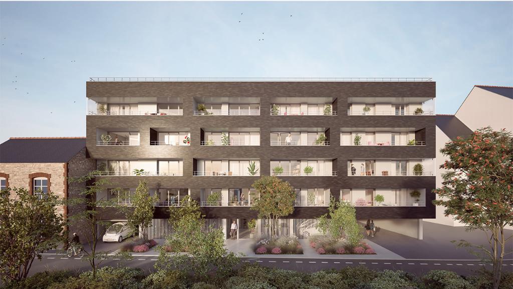 Appartement neuf deux pièces à Dinard, Bretagne