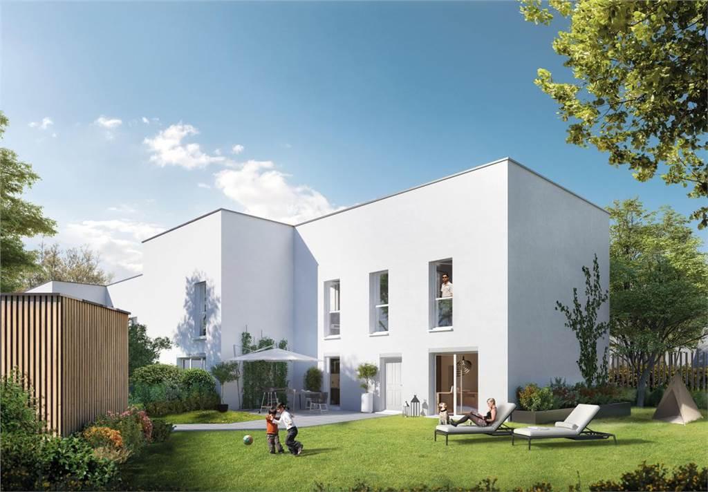 Appartement neuf deux pièces à Cesson-Sevigne