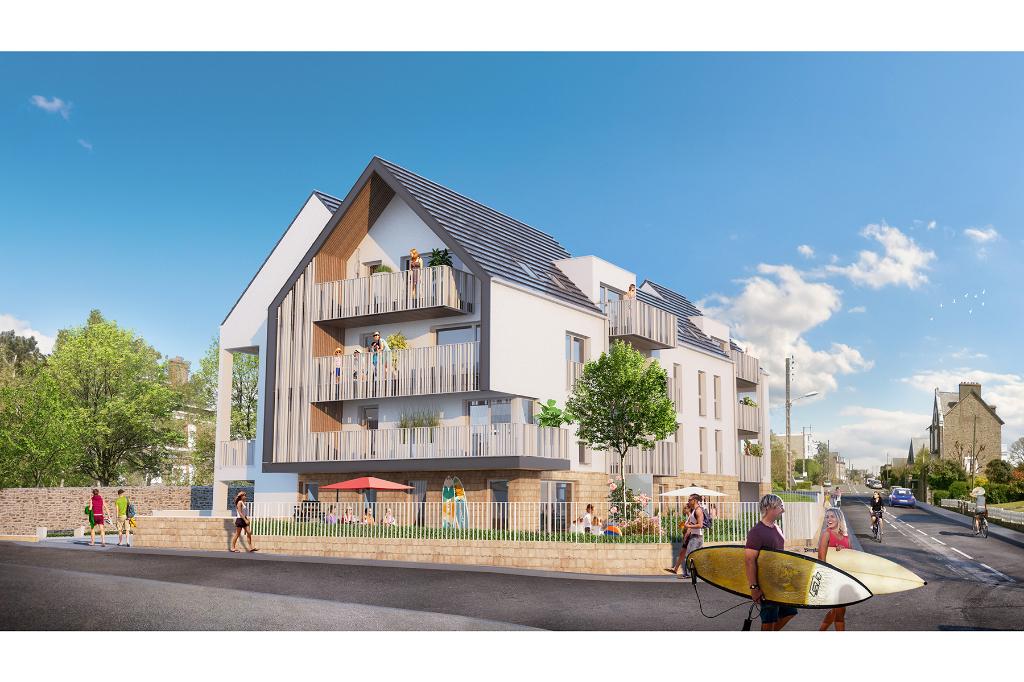 Appartement neuf trois pièces à St Malo, Rothéneuf