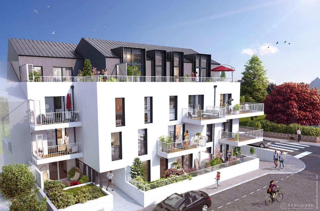 Grand appartement neuf deux pièces  à St Malo, quartier gare